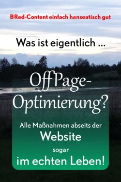 SEO abseits der Homepage