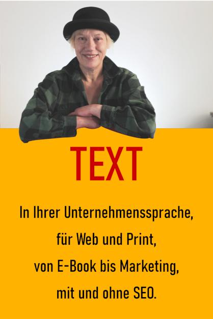 Texte bestellen für Website oder Print, von Blog bis E-Book, mit und ohne SEO